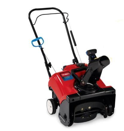 Toro's New Powerful Light Weight 4 cycle Snow Blower