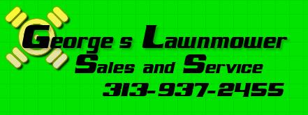 Georges Lawnmower Logo